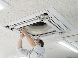 天井埋込タイプ組み立て